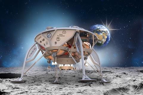 Szakértő: hibás műszer okozta az izraeli űrszonda lezuhanását