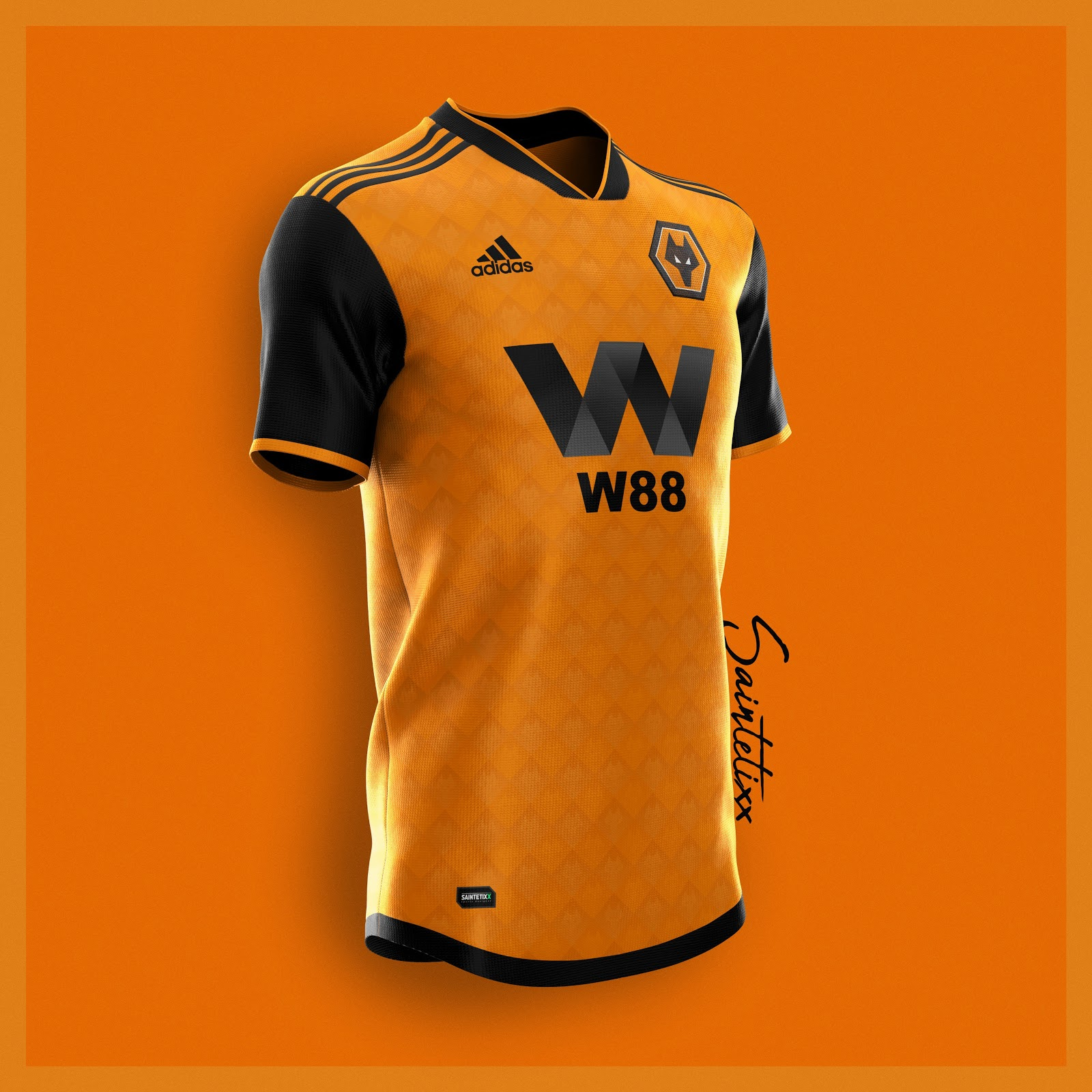 957626509bf Amazing Adidas Wolves 19-20 Home, Away & Third Concept Kits by ...