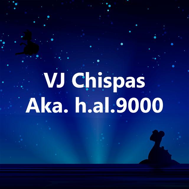Imagen con el logotipo de VJ Chispas Aka. h.al.9000