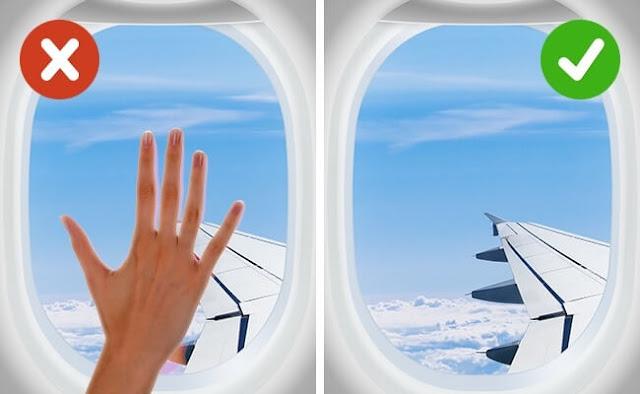لصحتك، أشياء تجنب فعلها على متن الطائرة
