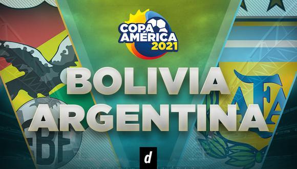 Argentina vs. Bolivia EN VIVO: en qué canal ver y horarios del partido por Copa América