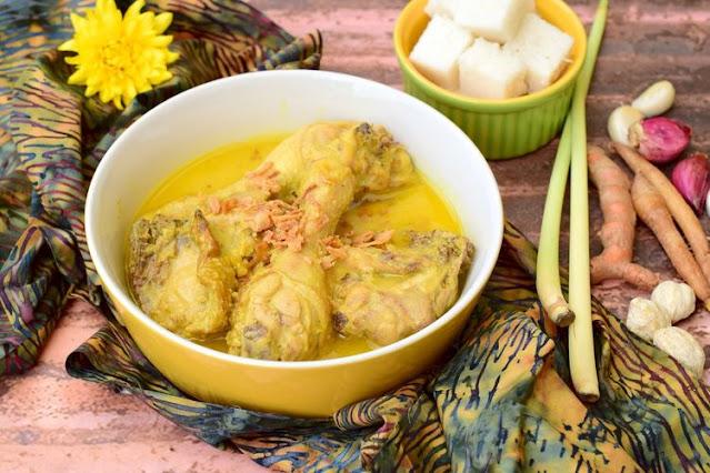 Opor Ayam, Resep Andalan