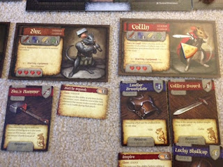Mice and Mystics player setup