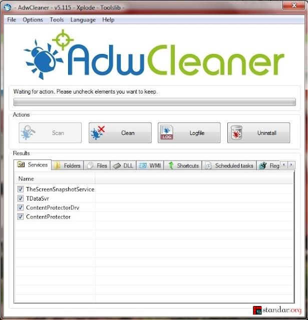 Panduan Menghapus Iklan Tersembunyi di Beberapa Browser dengan AdwCleaner-2