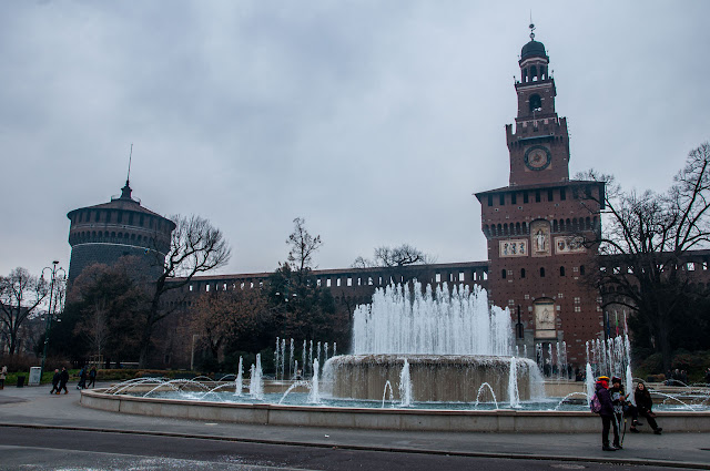 Castillo Sforzesco y el Parque Sempione