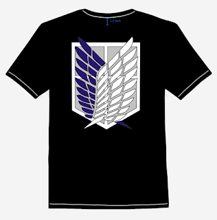 SNK - Scouting Legion T-Shirt Design Back
