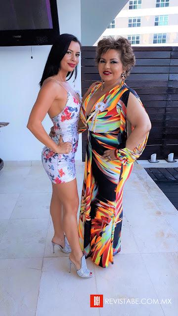 Diana Ciocea y Odalis Millar.