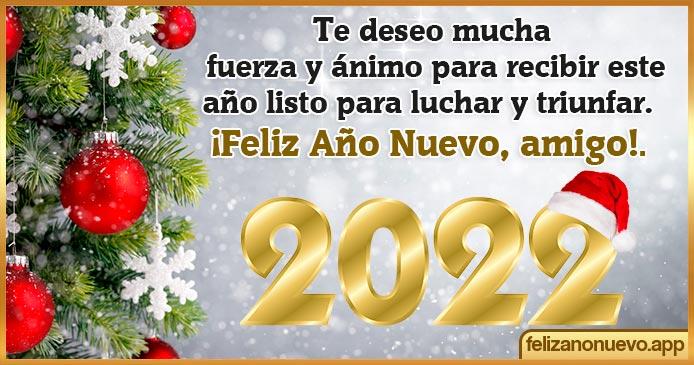 Frases de Año nuevo para amigos 2022