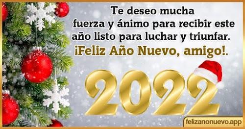 💥 Frases de Año nuevo para amigos 2022 ✅