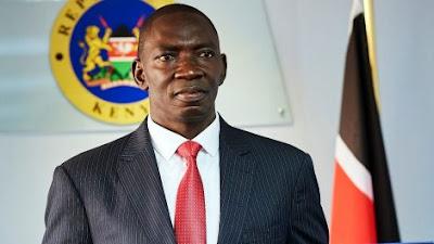 Government spokesman col. Cyrus Oguna