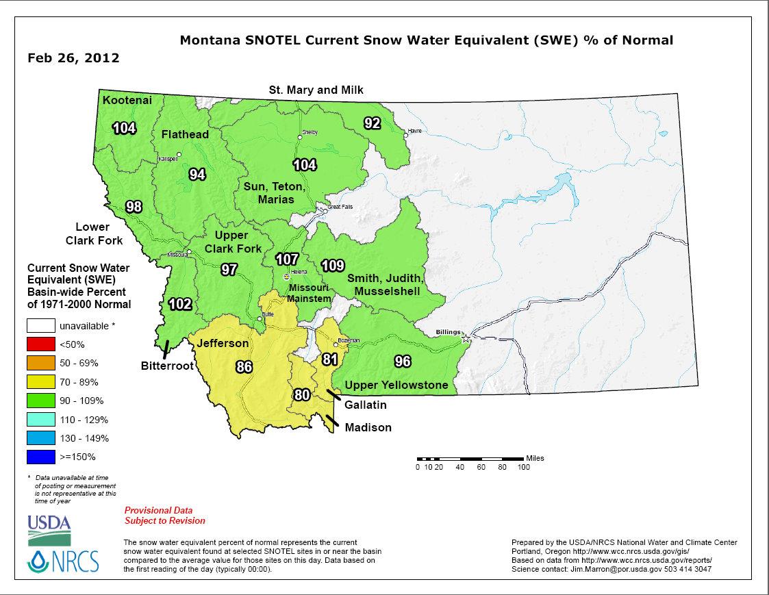 Snotel Montana Map.A Blog For Wapiti Waters Fly Fishing Montana Jack C Mauer Montana