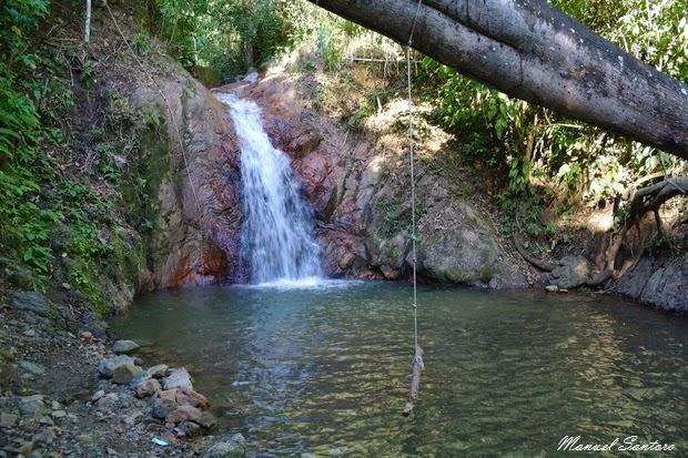 San Ramon, Catarata La Encantada