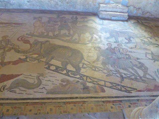 mosaico villa romana del casale piazza armerina
