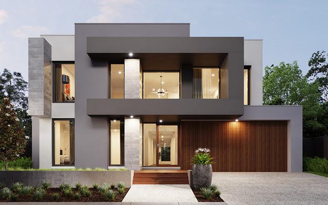 Pingin Coba Model Rumah Minimalis Atap Rata? Ini Contohnya