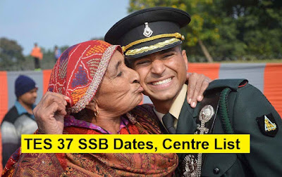 TES 37 SSB Dates, Centre Allotment and Merit List