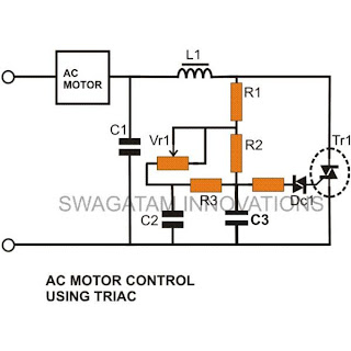 Simple ceiling fan speed controller Circuit