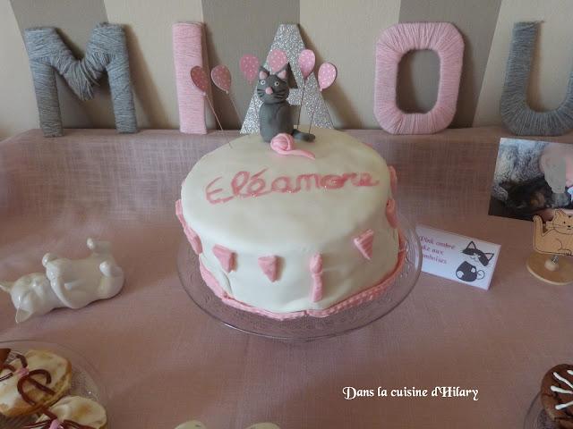 Pink ombré cake aux framboises et mascarpone
