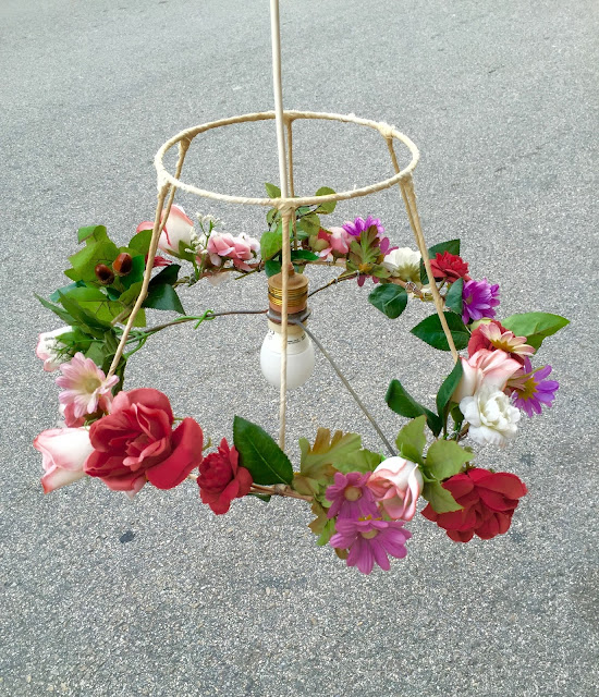 Primavera, luz, candeeiro, decoração, vintage, ideias, loja vintage