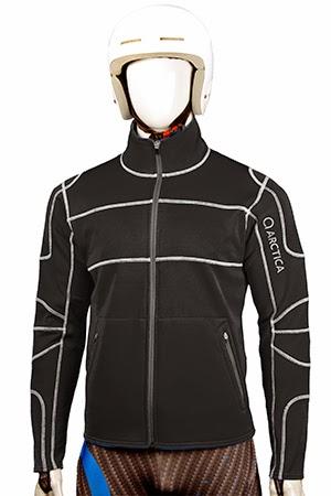 Arctica race layer fleece black image