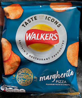 Walkers Taste Icons - Pizza Hut Margherita Pizza