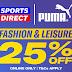 Sports Direct (MY): Puma Fashion & Leisure | 25% Off