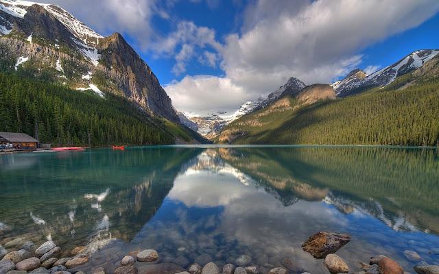 Lake Louise no Canadá