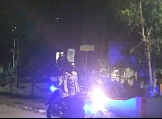 Polsek Baraka Polres Enrekang Lakukan Patroli Blue Light, Guna Mengurangi Kejahatan Malam Hari