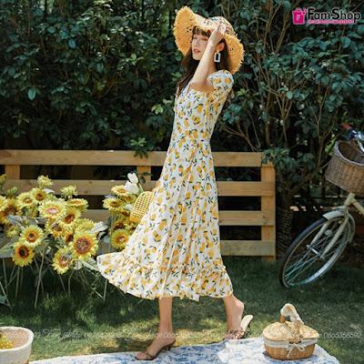 Shop bán váy maxi đi biển tại Nguyễn Xiển