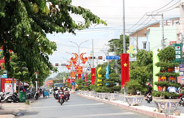 Chợ Mới hướng đến phát triển các khu đô thị hiện đại