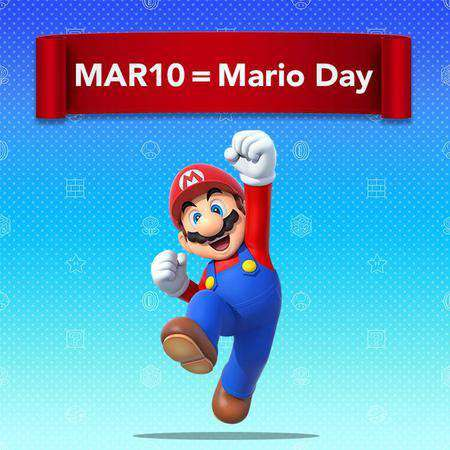 Mario Day Wishes Images