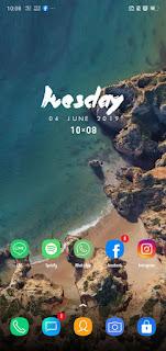 Download Samsung Galaxy S9+ Theme Untuk Color OS Oppo & Realme