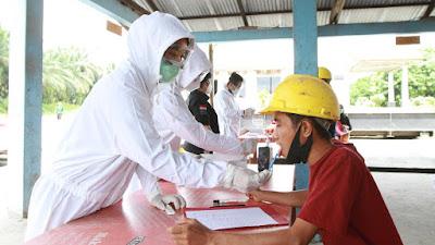 Gratis, Ditresnarkoba Polda Riau Lakukan Test Narkoba DiLingkup Tenaga Kerja