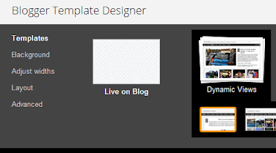 Blogger Template Designer