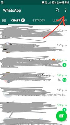 con quién habla alguien en Whatsapp tutorialphone