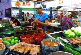 Street Food in Bangkok Pantip Plaza