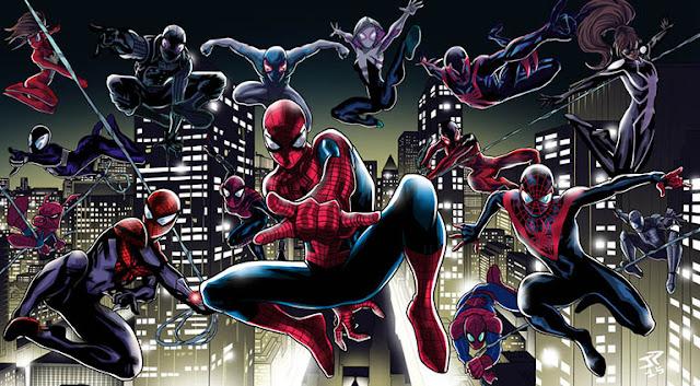 baca komik spiderverse adalah marvel