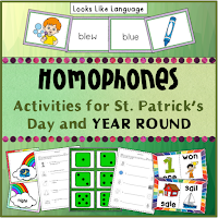 Improve listening skills and using sentence context while building vocabulary for homophones!