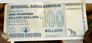 Seratus Triliyun Dollar Zimbabwe – Zimbabwe