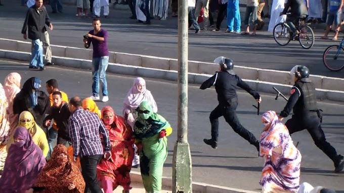 """Amnistía Internacional denuncia la """"represión selectiva de activistas saharoui"""" por parte de las autoridades marroquíes."""