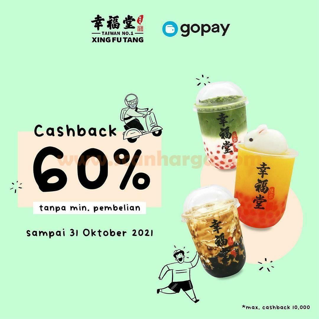 Promo XING FU TANG CASHBACK 60% Bayar pakai GOPAY