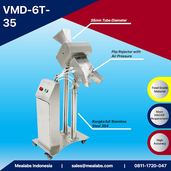 VMD-6T-35 Pharmaceutical Metal Detector