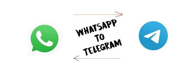 Cara Mudah pindahkan isi Chat WhatsApp ke Telegram