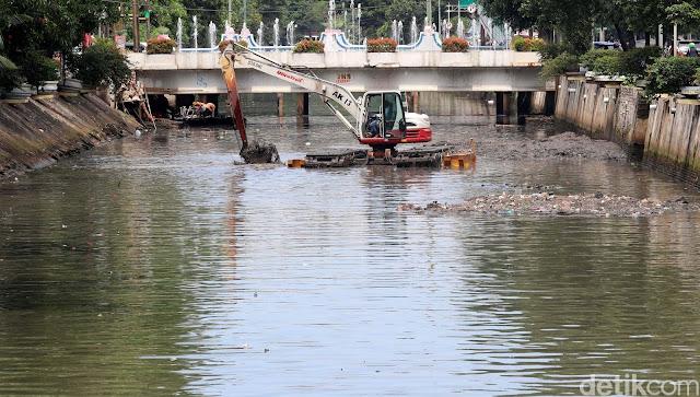 Tentang Normalisasi Sungai Era Jokowi-Ahok yang 'Disindir' Anies