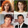 ANTES E DEPOIS - ELENCO DE DIRTY DANCING
