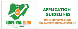 How to apply for Survival Fund Guaranteed Offtake Scheme