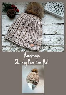 Handmade Pom Pom Hat Beanie