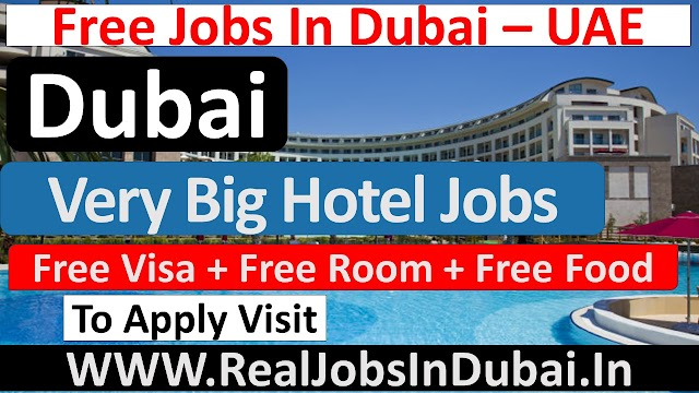JA Resort Hotel Jobs In Dubai -UAE 2021