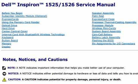 dell inspiron 1525 1526 service manual printer and service manual rh printer1 blogspot com dell inspiron 1526 service manual pdf dell inspiron 1525 service manual pdf