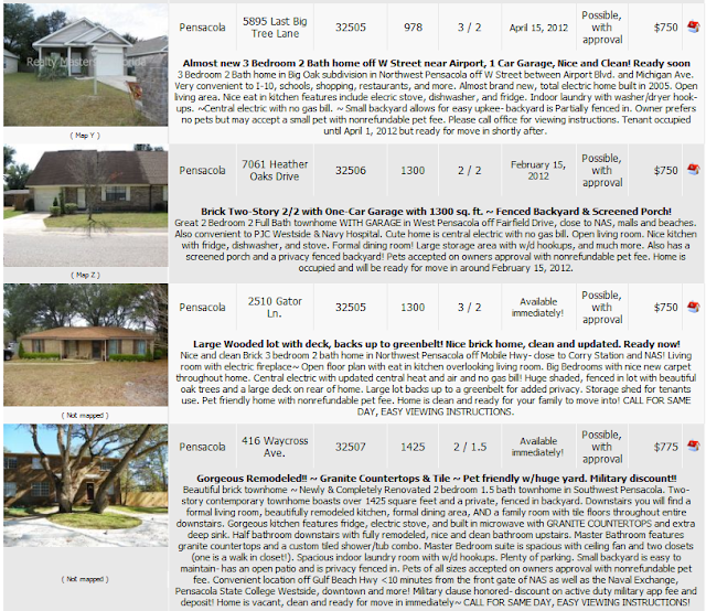 Website For Houses For Rent: Love To Live In Pensacola, Florida: Pensacola Rental Homes