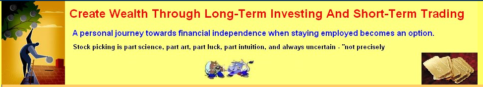 Create Wealth Through Long-Term Investing and Short-Term Trading